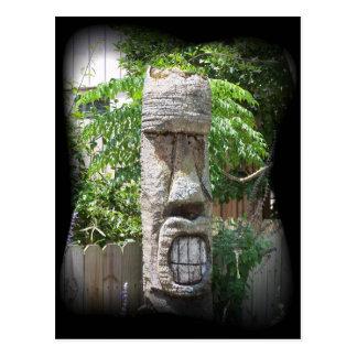 Conception de Tiki Carte Postale