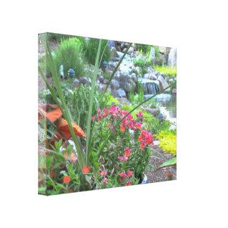 Conception de toile d'étang et de jardin de Koi Toiles