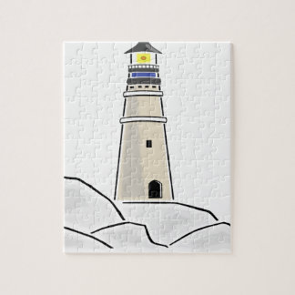 conception de tour de phare puzzle