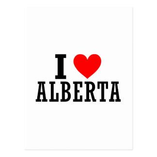 Conception de ville d'Alberta, Alabama Carte Postale