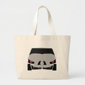 Conception de voiture de Skulled Grand Tote Bag