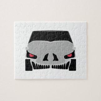 Conception de voiture de Skulled Puzzle
