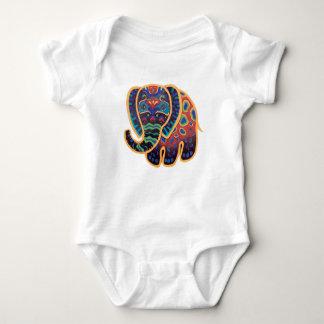 Conception d'éléphant d'Asie de bébé Body