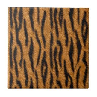 Conception d'impression de peau de tigre, motif de petit carreau carré