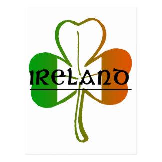 Conception d'IRELAND-CLOVER Carte Postale