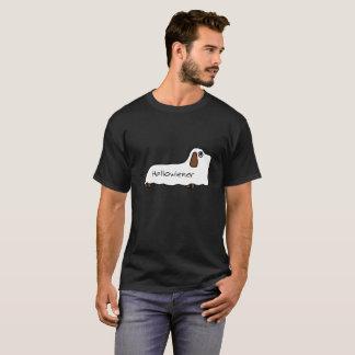 Conception drôle de Halloween de fantôme de teckel T-shirt