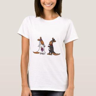 Conception drôle de mariage de jeunes mariés de t-shirt
