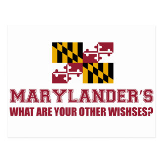 conception du Maryland Carte Postale