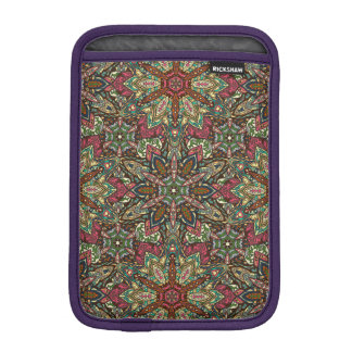 Conception florale de motif d'abrégé sur mandala housse iPad mini