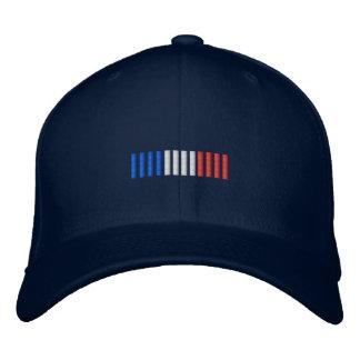 Conception française de casquette de drapeau