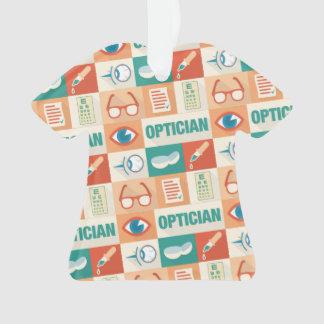 Conception iconique d'opticien professionnel