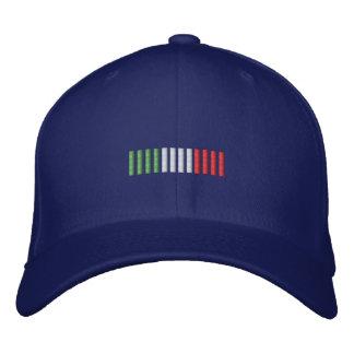 Conception italienne de casquette de drapeau