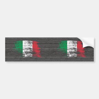 Conception italienne fraîche de drapeau autocollant pour voiture