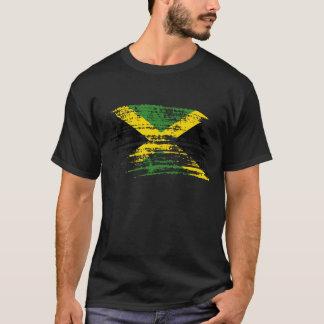 Conception jamaïcaine fraîche de drapeau t-shirt