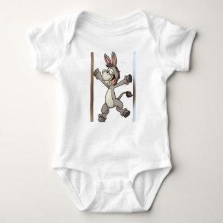 conception mignonne d'âne de vêtements de bébé body