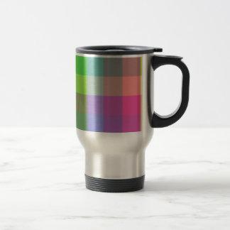 Conception multicolore de contrôleur mug de voyage en acier inoxydable