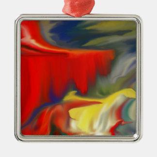Conception multiple 100 d'Abstrac de colorfull de Ornement Carré Argenté