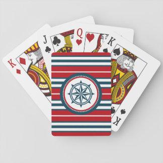 Conception nautique jeu de cartes