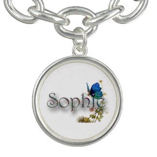 """Conception personnalisée de """"Sophie"""" Bracelet Avec Breloques"""