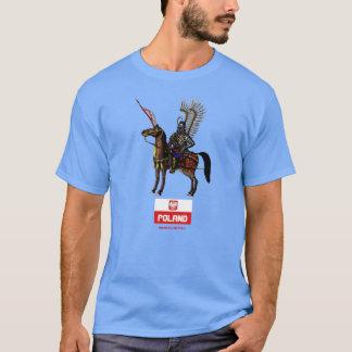 Conception polonaise de T-shirt de la Pologne de