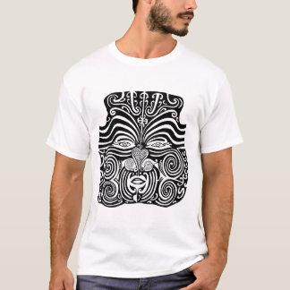 Conception tribale maorie antique de tatouage de t-shirt