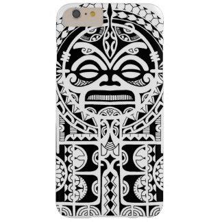 Conception tribale polynésienne de tatouage avec coque iPhone 6 plus barely there