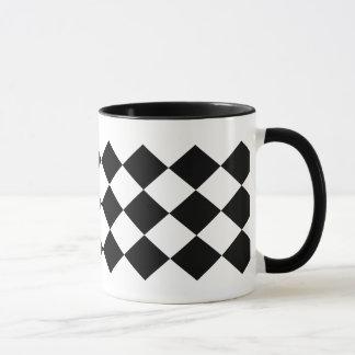 Conception triple moderne et contemporaine de mug