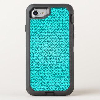 Conception turquoise d'impression de sirène coque otterbox defender pour iPhone 7