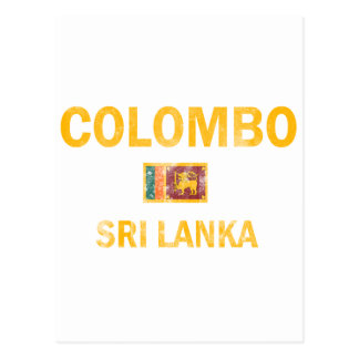 Conceptions de Colombo Sri Lanka Carte Postale