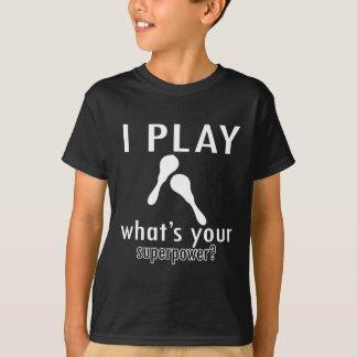 Conceptions de maracas t-shirt