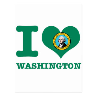 Conceptions de Washington Carte Postale