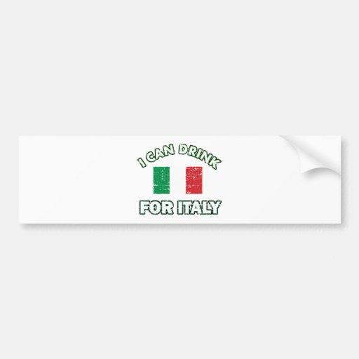 Conceptions potables fraîches de l'Italie Autocollant Pour Voiture