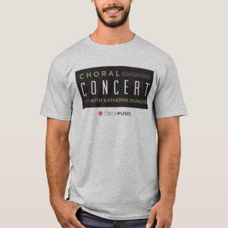 Concert choral t-shirt