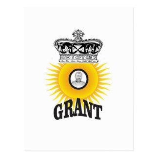 concession ovale de roi du soleil carte postale