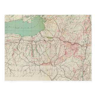 Concessions de terre de NY, brevets, achats Carte Postale