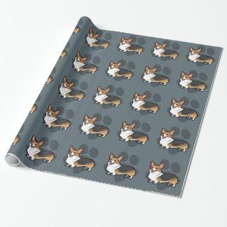 Concevez votre propre animal familier papiers cadeaux noël