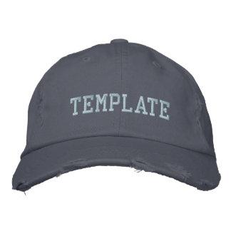 Concevez votre propre casquette brodé casquette de baseball brodée