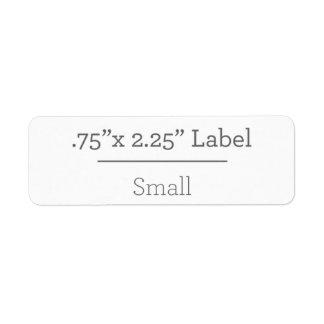 Concevez votre propre étiquette 8,5 x 11