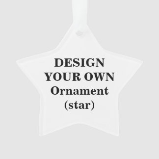 Concevez votre propre ornement acrylique