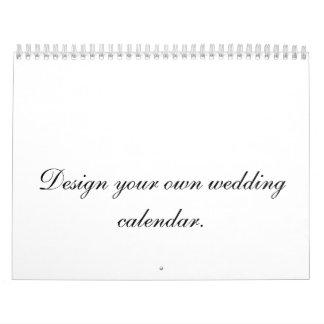 Concevez votre propre planificateur ou cadeau de calendrier mural