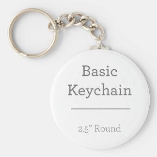 Concevez votre propre porte - clé rond de photo porte-clé rond