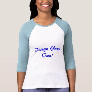Concevez votre propres blanc et bleus layette tee shirts