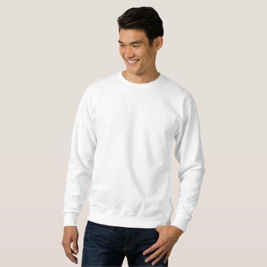 Sweat-shirt basique pour homme, Blanc