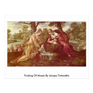 Conclusion de Moïse par Jacopo Tintoretto Carte Postale