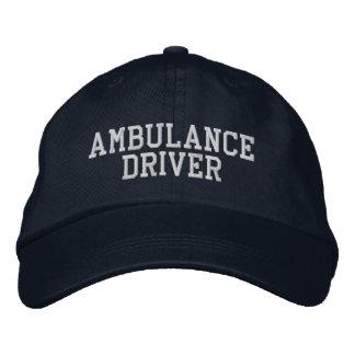 Conducteur d'ambulance chapeau brodé