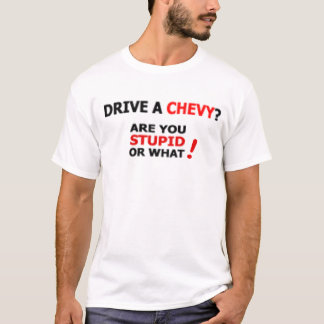 Conduisez un T-shirt de Chevy