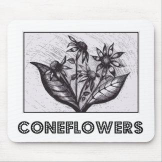 Coneflowers Tapis De Souris