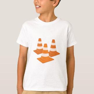 Cônes du trafic t-shirt