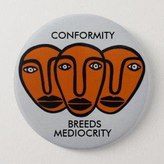 Conformité 2 badge rond 10 cm