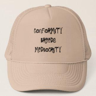 conformité casquette